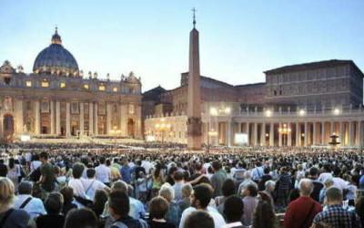 8 settembre 2013, la veglia della pace in piazza San Pietro