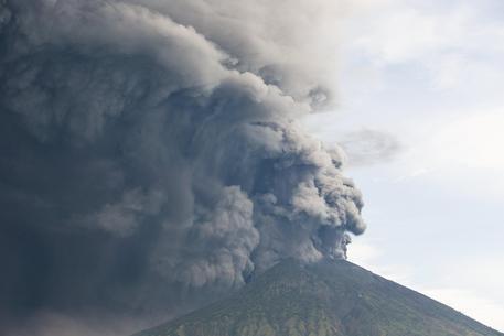 Eruzione del vulcano Agung a Bali